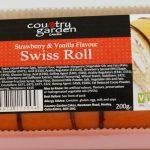 200g Swiss Rolls strawberry