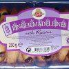 Cake Zone Finger Madeleines with Raisins 250g