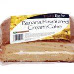 Bannana-Cake star