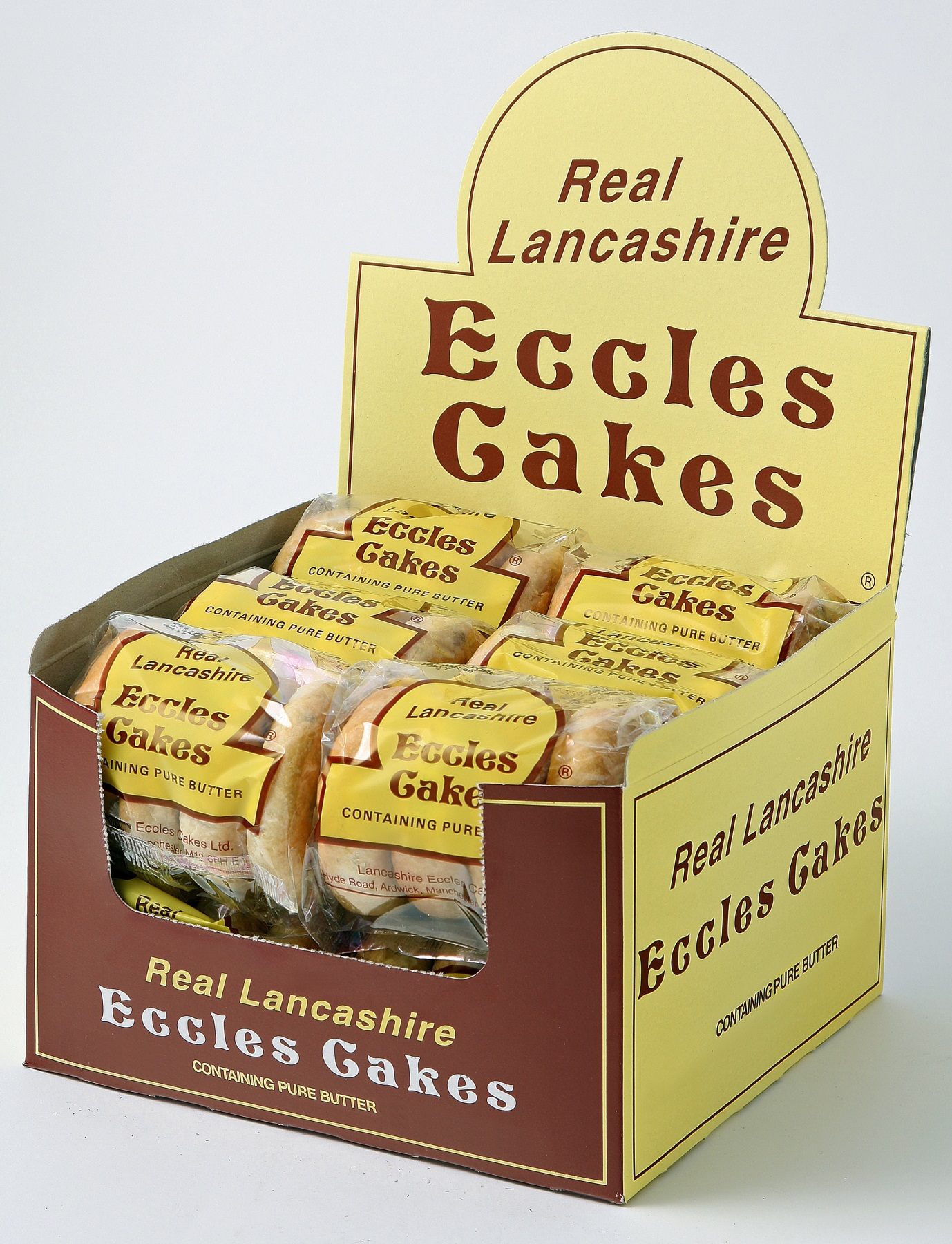 Real Lancashire Eccles Cakes The Cake Man
