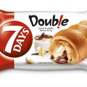 7 days double croissant cocoa vanilla