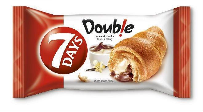 Http Thecakemanuk Com Product 7 Days Double Croissant Cocoa Vanilla 80g