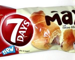 7 days max croissant cocoa 80g